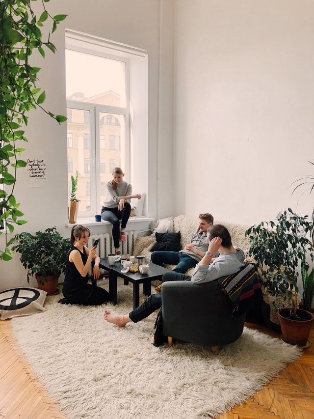 Online rent payment and roommates